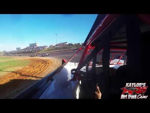 Clayton Turner at 411 Motor Speedway