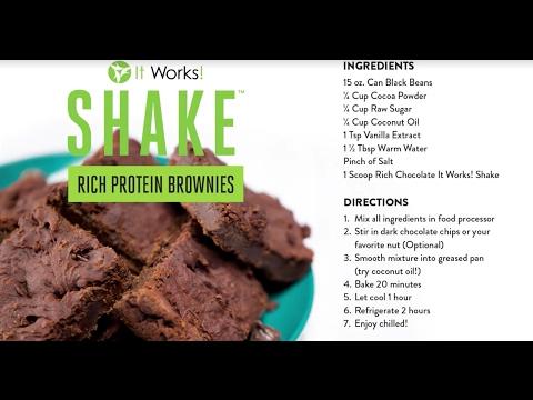 gateau-brownie-protéiné-avec-it-works-shake
