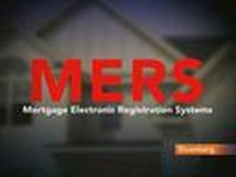 MERS Registry Comes Under Fire in Foreclosure Crisis: Video