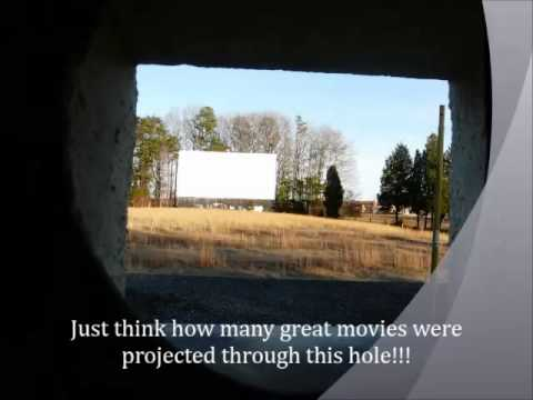 Bel-Air Abandoned Drive-in Theater in Walkertown, NC