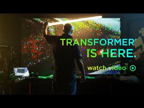 Transformer - The variable aspect ratio projection screen