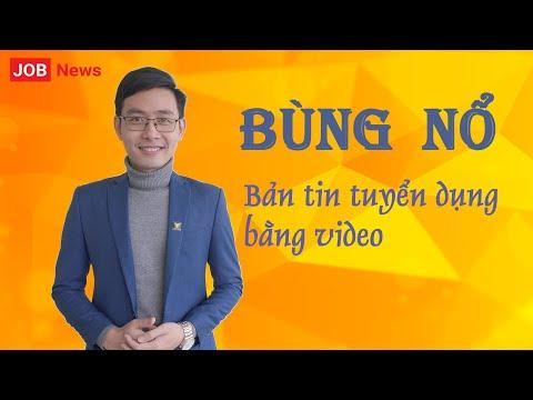 [JOB News] Giới thiệu Bản tin tuyển dụng bằng video