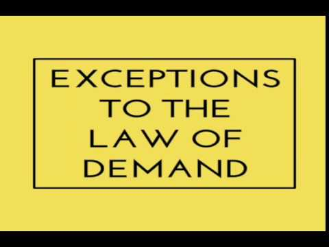 Image result for exceptions to the law of demand