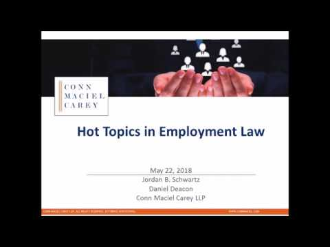 Hot topics in Employment Law (Transgender & Sexual Orientation, and Employee Use of Social Media)