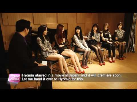 [ENG] 131108 T-ara Korea Today Interview CUT [720p]