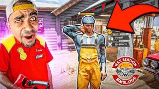 محاكي محطة البنزين #9 : موظف جديد 😍⛽🔥 - Gas Station Simulator