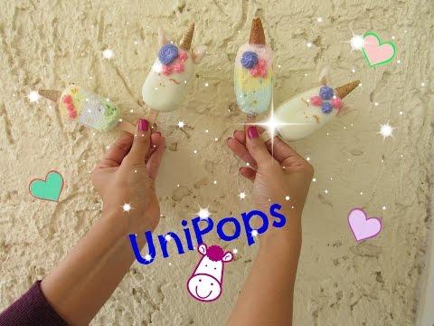 UNIPOPS (Paletas de unicornio)
