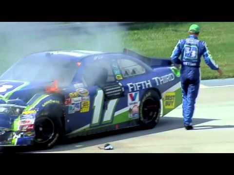 SONOMA, CA - JUN 24, 2012: Matt Kenseth (17) Brings His Car ...