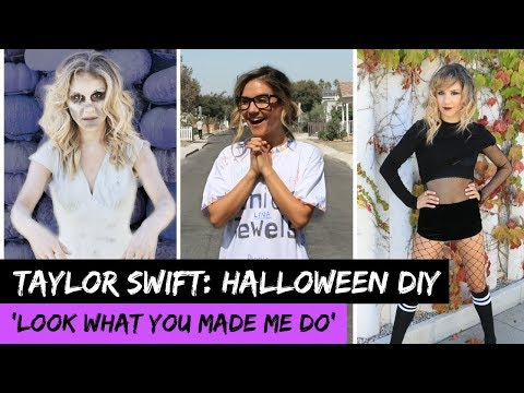 Taylor Swift 'Look What You Made Do': EASY HALLOWEEN COSTUMES! | Hollywire