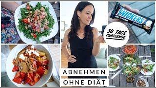 ABNEHMEN & GENIEßEN. FOOD DIARY. Intuitive, ausgewogene Ernährung ohne Diät. 30 Tage Challenge (P)