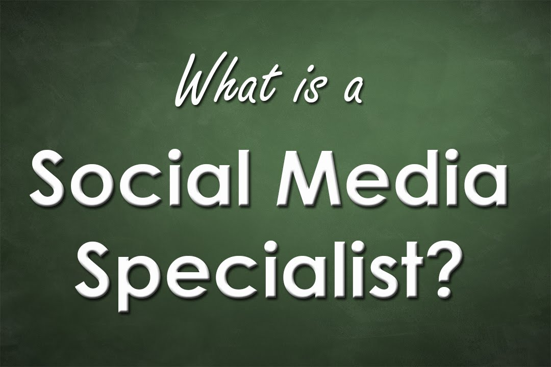 what exactly does a social media specialist do