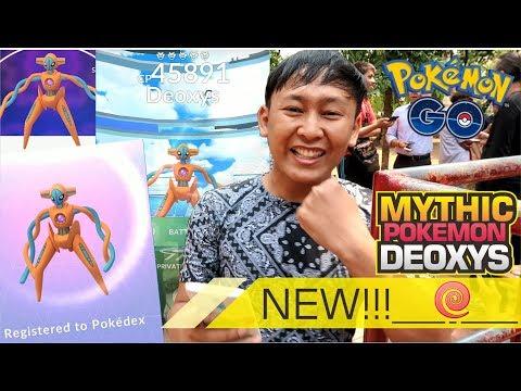 POKEMON MYTHIC DEOXYS MUNCUL !!! PERTAMA KALINYA DI POKEMON GO