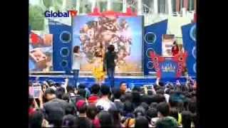 DJ Sachiko [Nagamix] Musik Sore Seru Global TV, 24 Januari 2014 (courtesy Global TV)