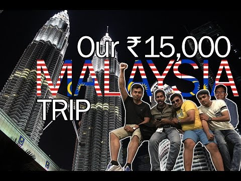 How to visit Malaysia in 15000 Rupees all inclusive | Our Malaysia (Kuala Lumpur) Trip | Vlog