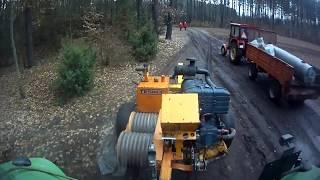Deutz-Fahr Agrotron130- transport maszyny do naciągania linii energetycznych