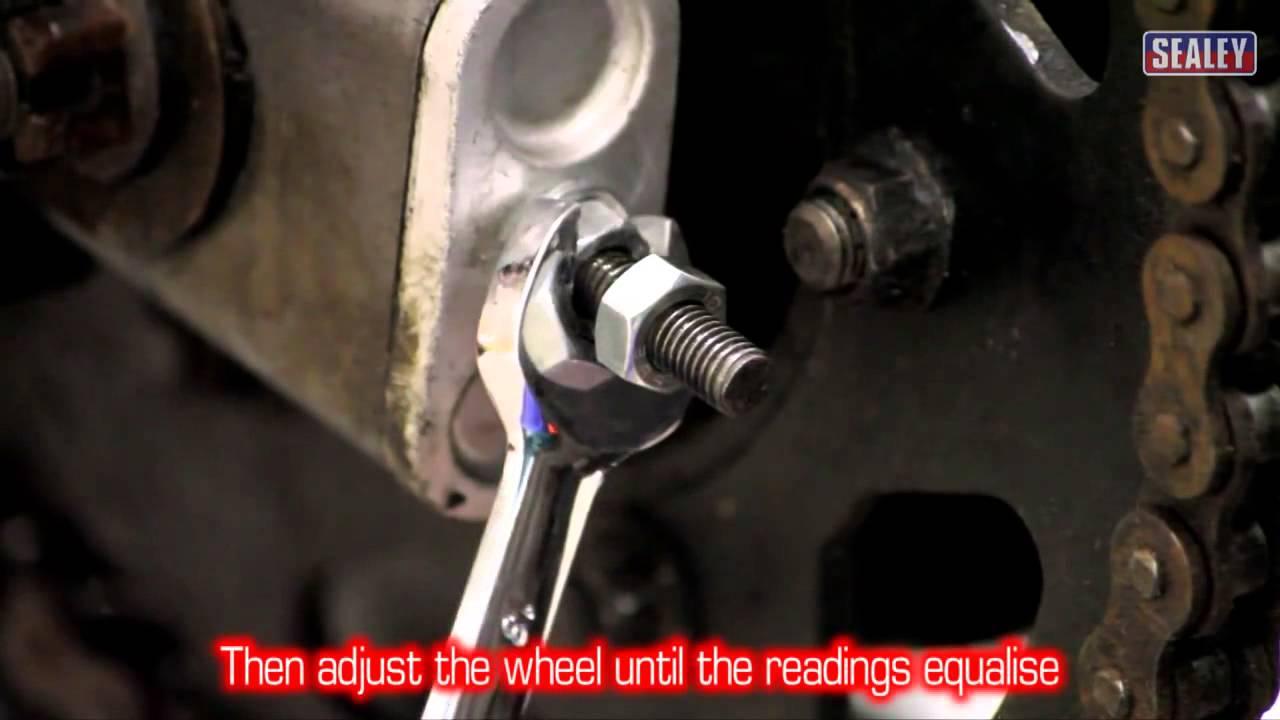 Sealey MS070 Motorcycle Wheel Laser Aligner
