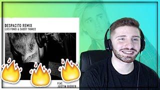 Despacito - Justin Bieber (Remix) REACTION Ft. Luis Fonsi & Daddy Yankee
