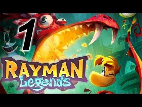 Прохождение Rayman Legends [Кооператив] #1