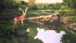 Lukisan pemandangan asli alam Indonesia karya pelukis master