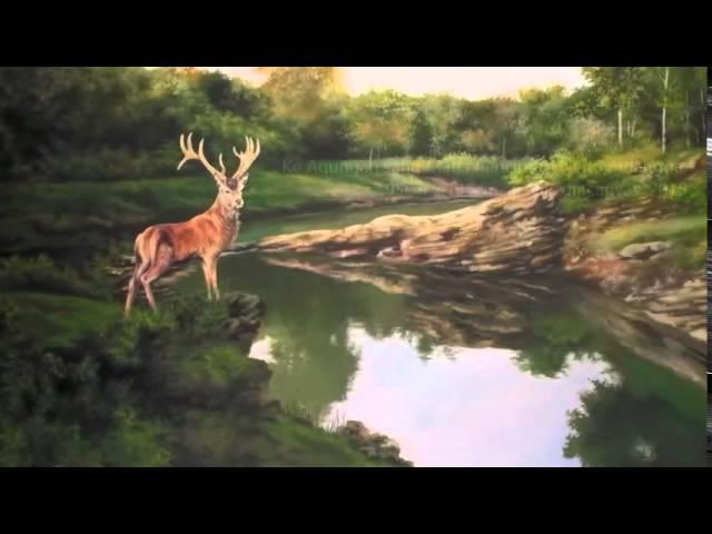 Lukisan Pemandangan Asli Alam Indonesia Karya Pelukis Master Youtube