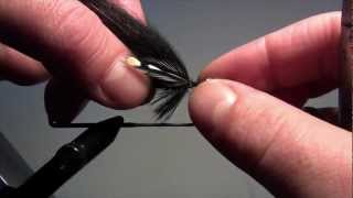 Fly tying - Silver Stout (Variant)