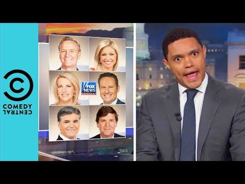 Fox News Has Still Got Trump's Back   The Daily Show With Trevor Noah