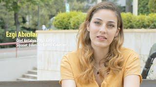 Ezgi Abıcılar - Siyaset Bilimi ve Kamu Yönetimi Video