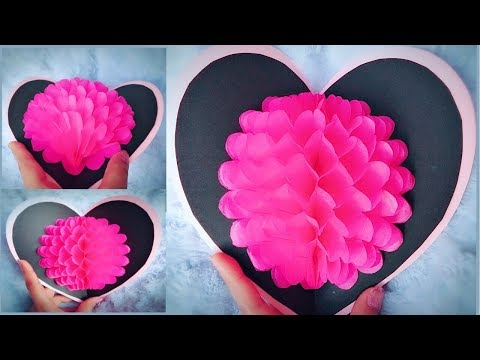 DIY 3D Flower Pop-up Card - Easy Mother's Day Gift