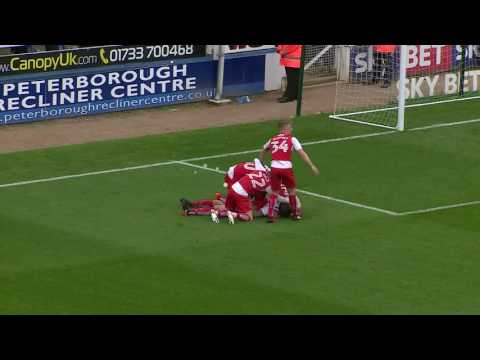 Peterborough United 1-2 Fleetwood Town | Highlights