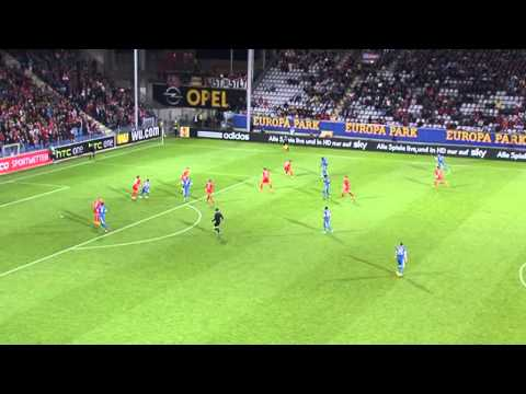 Evropská liga: SC Freiburg vs. FC Slovan Liberec 2:2 (2:0)