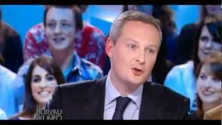 Bruno Lemaire incompétent en agriculture ? (mardi 22 février 2011)