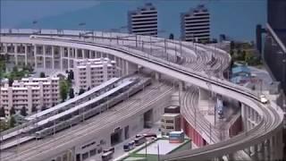 大宮鉄道博物館 鉄道ジオラマ 地球にやさしい鉄道 ※一部編集