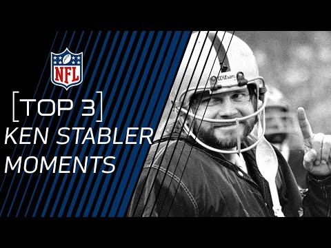 Top 3 Ken Stabler Moments | 2016 Pro Football Hall of Fame Class | NFL