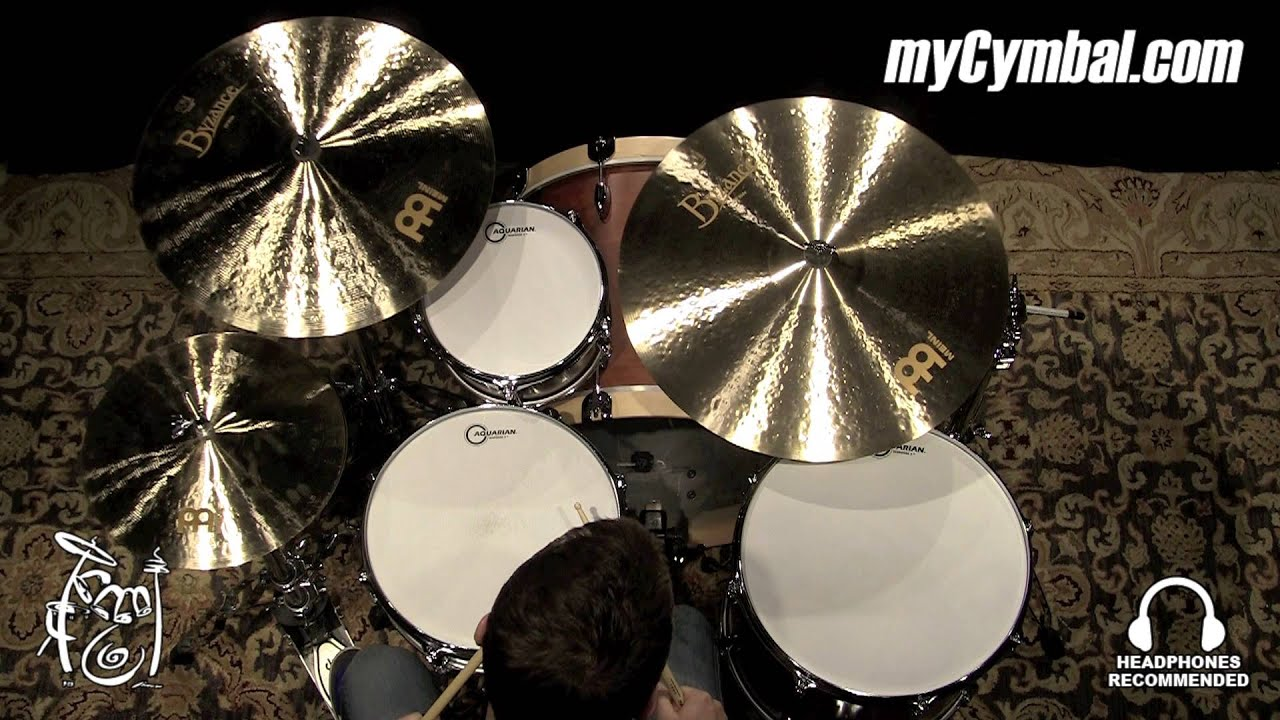 meinl byzance jazz generations cymbal set played by mike johnston set 1121814b youtube. Black Bedroom Furniture Sets. Home Design Ideas