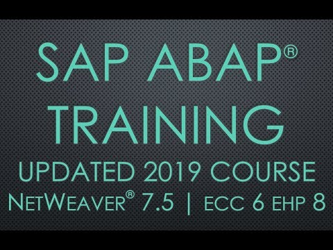 Session 2 - Role of an ABAP Consultant | SAP ABAP Training Video Series