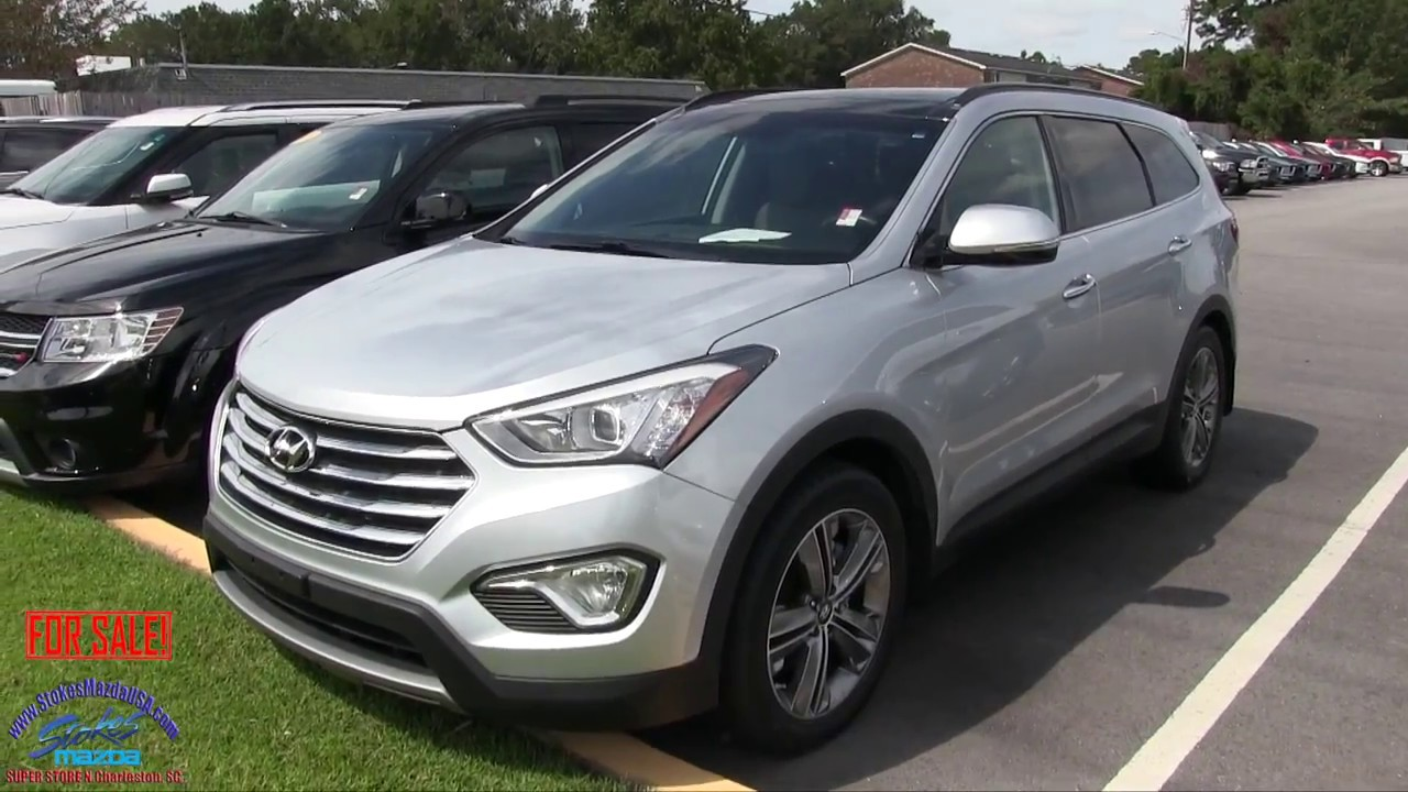 2015 Hyundai Sante Fe Limited For Sale Review At Stokes Mazda Sept 2017
