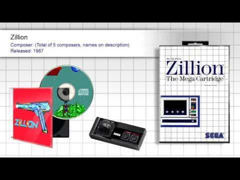 Zillion (Full OST) - SMS