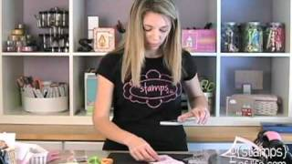 Rubber Stamping {Tips} with Stephanie Barnard: Cake Card!!