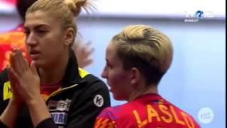 Romania - Germania 23-22 C.E. 2016 ( last 2 minutes)