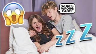 Nightmare Prank On Boyfriend **CUTE REACTION**😴💕| Piper Rockelle