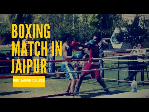 Boxing match in jaipur sport#15
