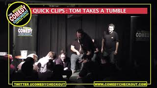 Discount Comedy Checkout - Quick Clips : Tom Takes A Tumble
