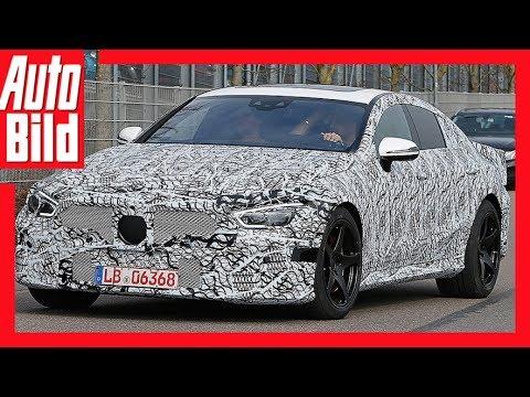 Erlknig Mercedes AMG GT4 2018 Hybrid Power im AMG Vier Tr Coup