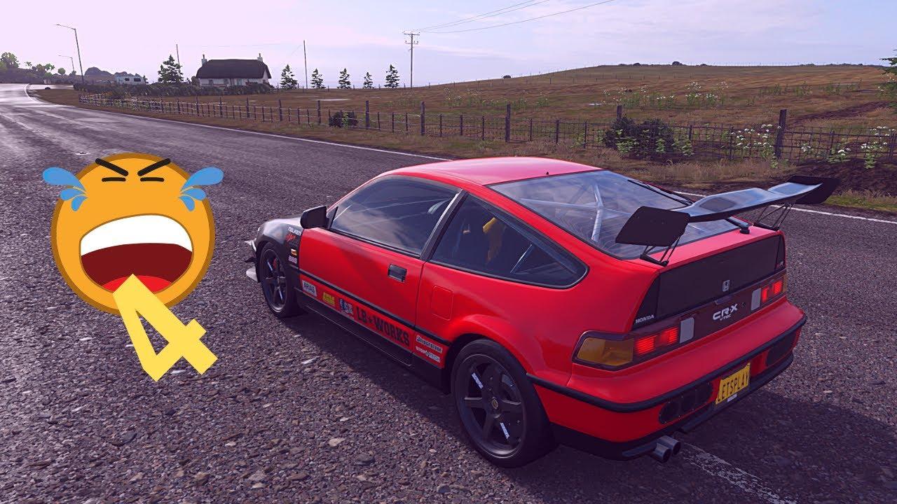 Forza Horizon 4 HONDA CR X SIR 1991