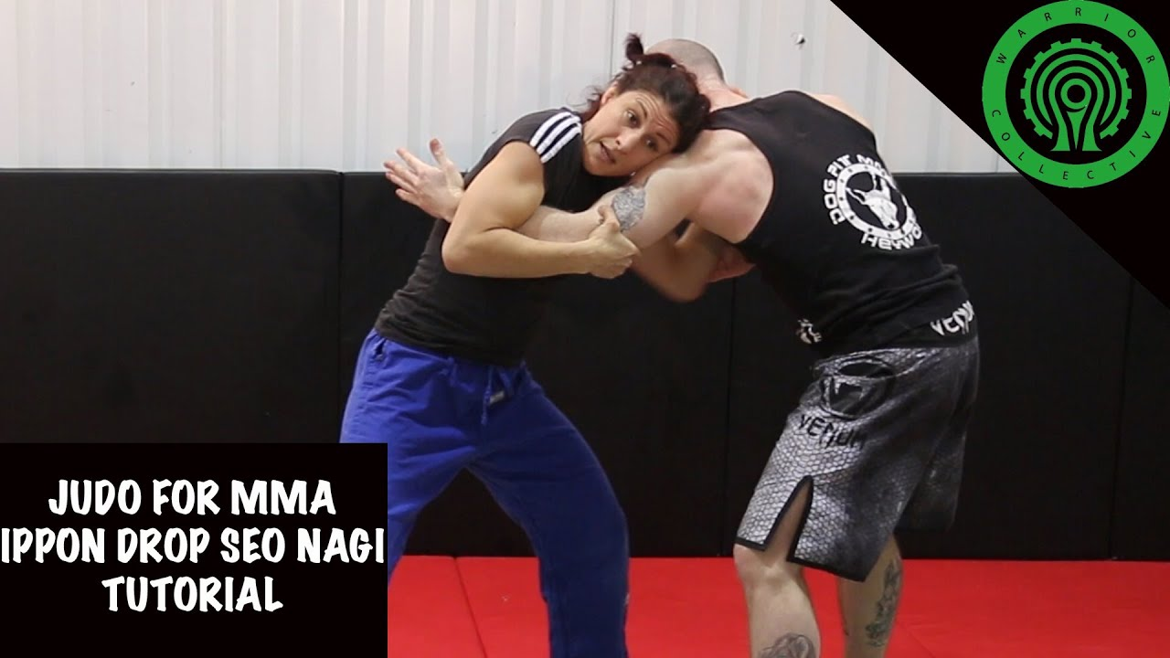 Judo for MMA No Gi Drop Seoi Nage (Drop Shoulder Throw) Tutoriall