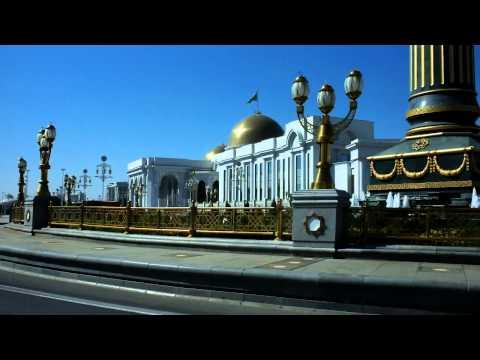 Le Palais du Président à Ashgabat