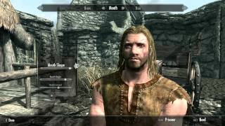 skyrim Character Customization Ep.2 - Play As Geralt Of Rivia - How To Look Like The Witcher