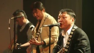 Pink Floyd cover Shar Airag Mongolia