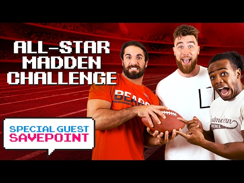 Kansas City's TRAVIS KELCE vs. SETH ROLLINS: All-Star Madden Challenge — Special Guest Savepoint