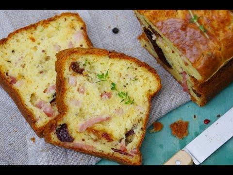 Cake salé facile pruneaux lardons super moelleux